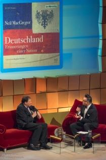 """der Gewinner der Kategorie """"Bestes Sachhörbuch"""" im Gespräch mit Alsmann"""