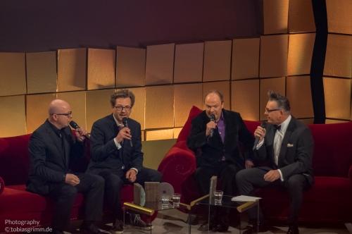 Oliver Rohrbeck, Andreas Fröhlich und Jens Wawrczeck plaudern aus dem Drei ??? Nähkästchen