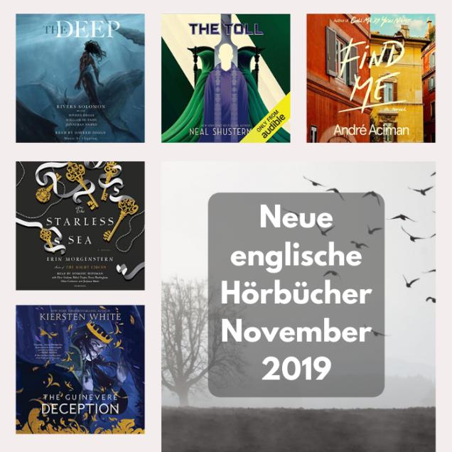 neue englische Hörbücher im November 2019