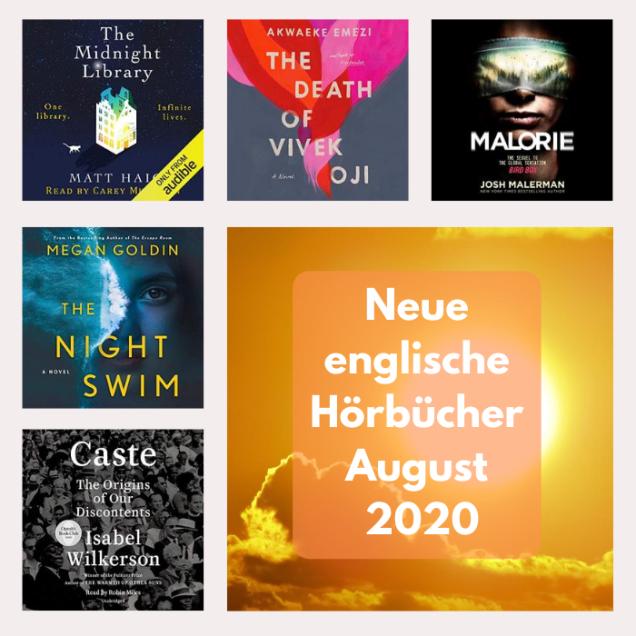 neue englische Hörbücher im August 2020
